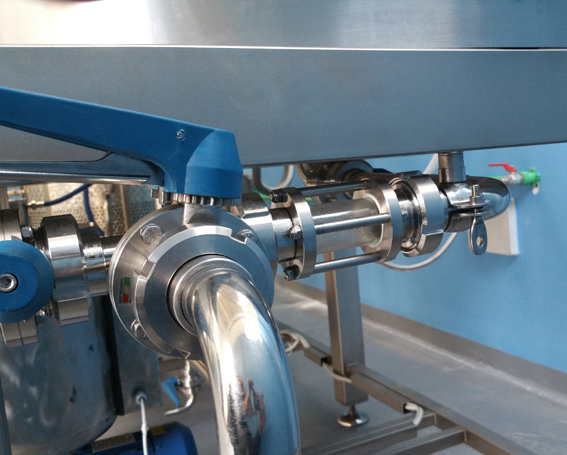 installation brassage 5 HL brasserie Marican